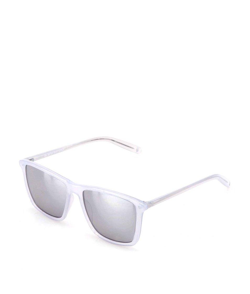 Světle modré unisex sluneční brýle Cheap Monday Mars