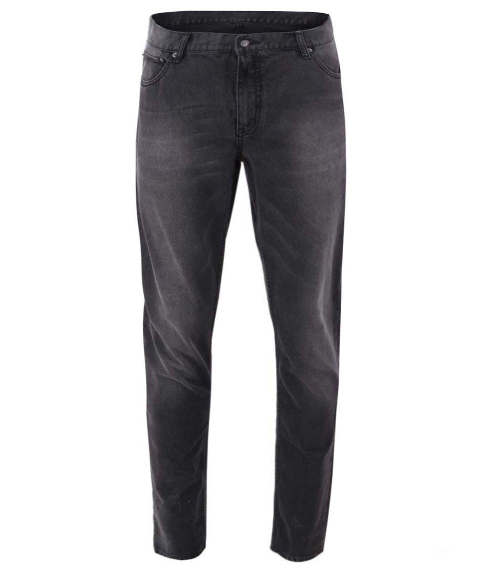 Tmavě šedé pánské džíny Cheap Monday City