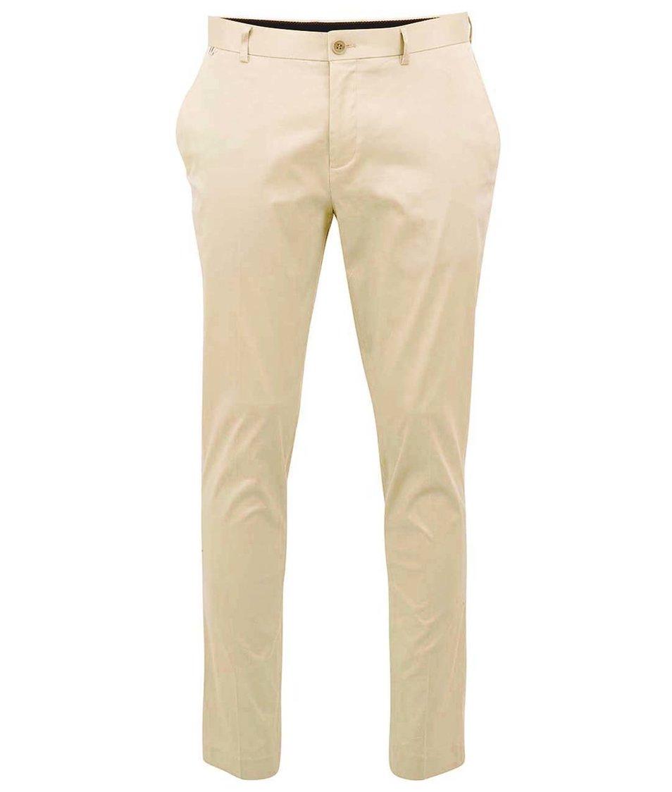 Béžové kalhoty !Solid Kib