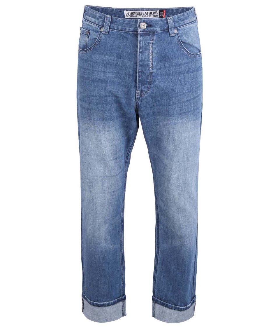 Světle modré pánské džíny Horsefeathers Ground