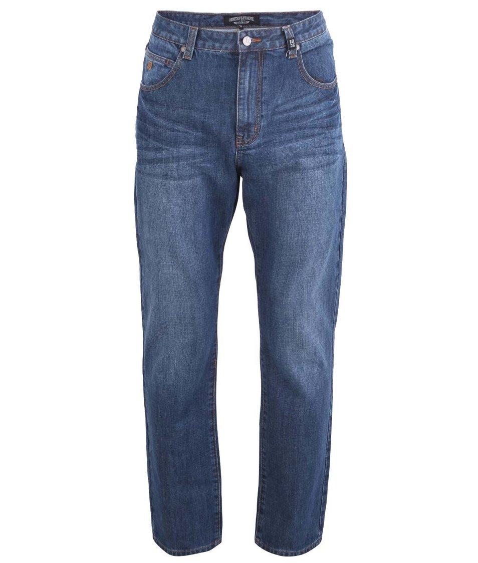 Modré pánské džíny Horsefeathers Smith