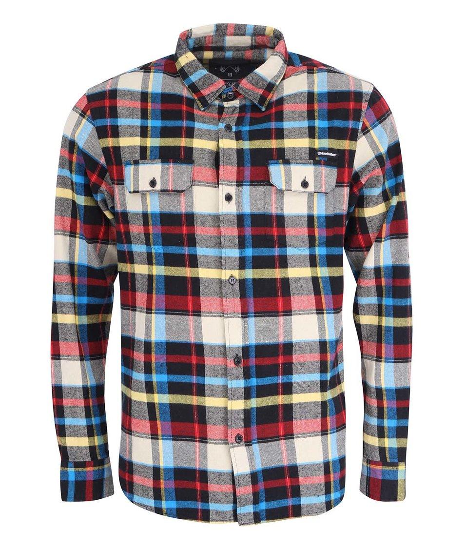 Barevná károvaná pánská košile Horsefeathers Mountain