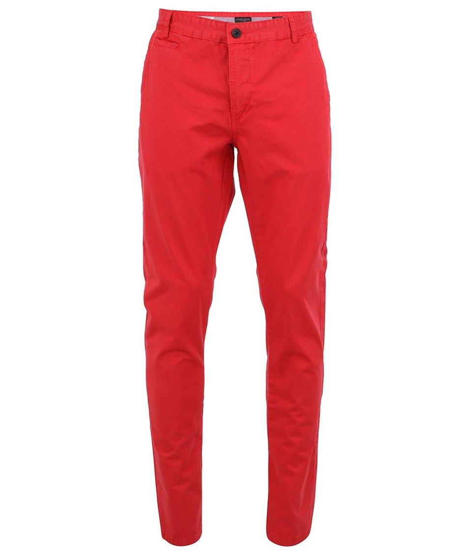 Červené chino kalhoty Casual Friday by Blend