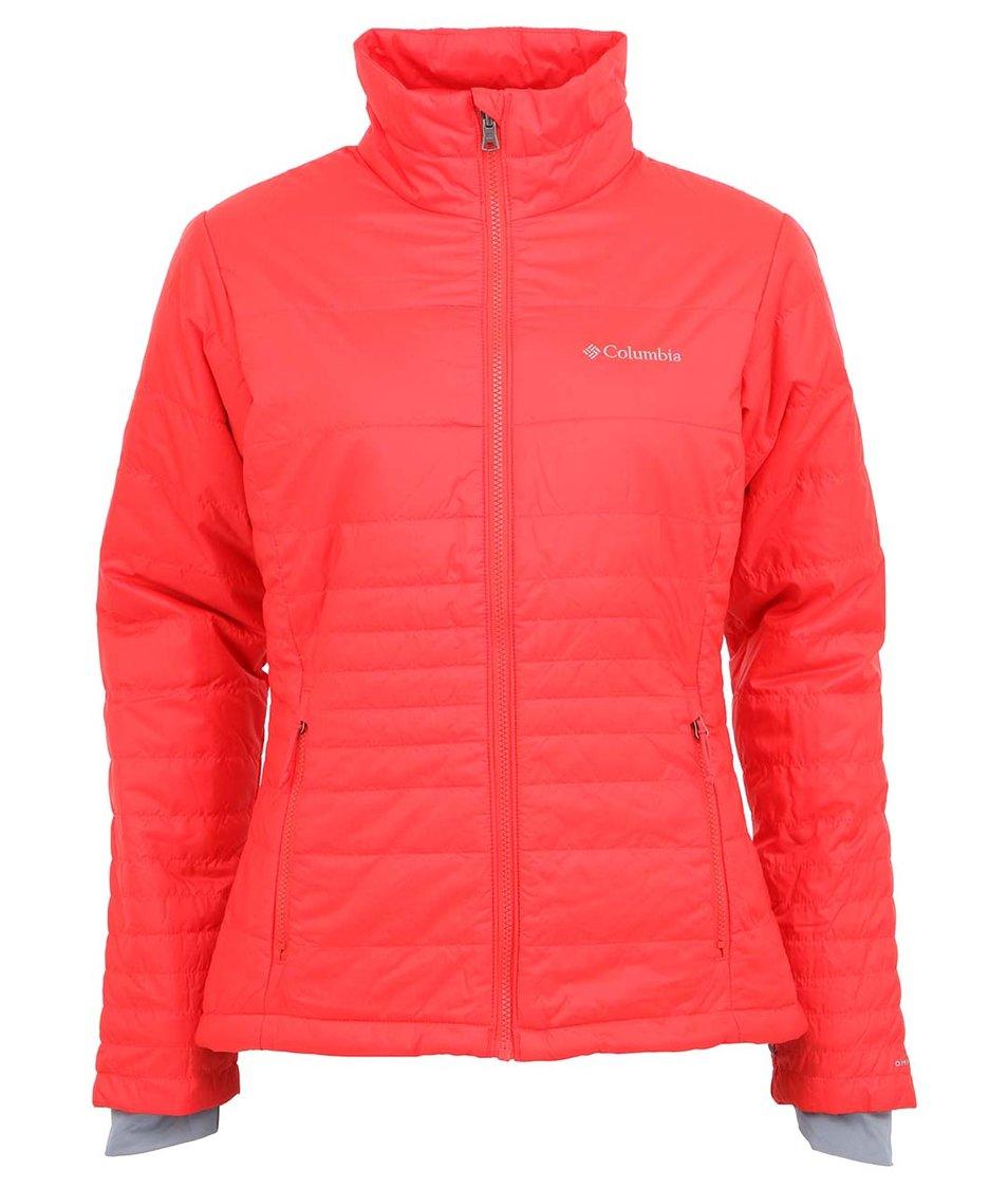 Červená dámská bunda Columbia Go To