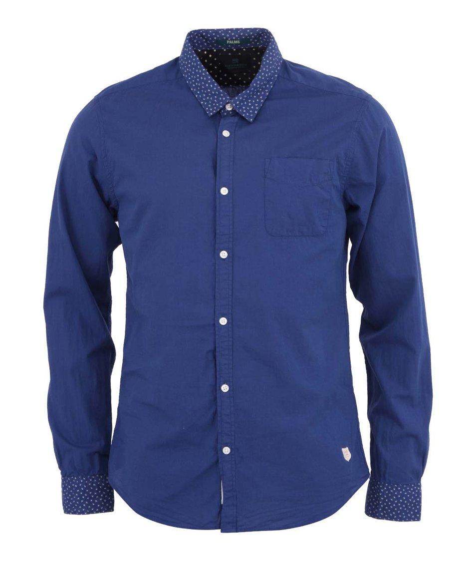 Modrá košile s kapsičkou Scotch & Soda