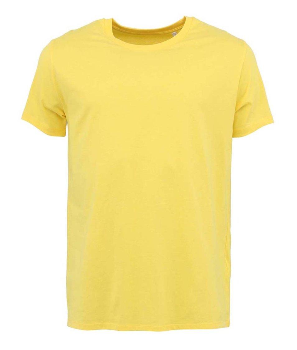 Světle žluté pánské triko Stanley & Stella Leads