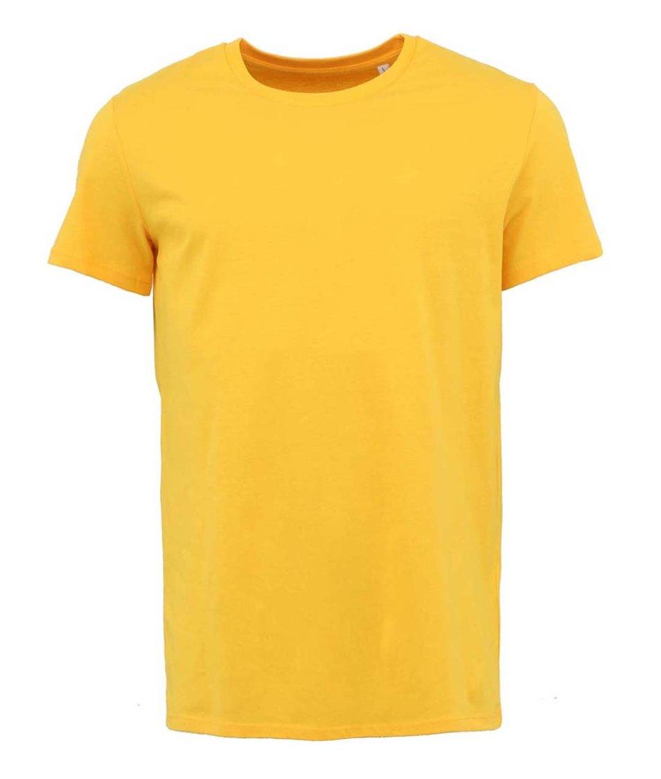 Žluté pánské triko Stanley & Stella Leads