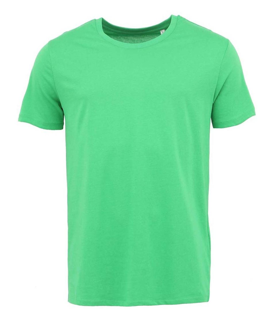 Zelené pánské triko Stanley & Stella Leads