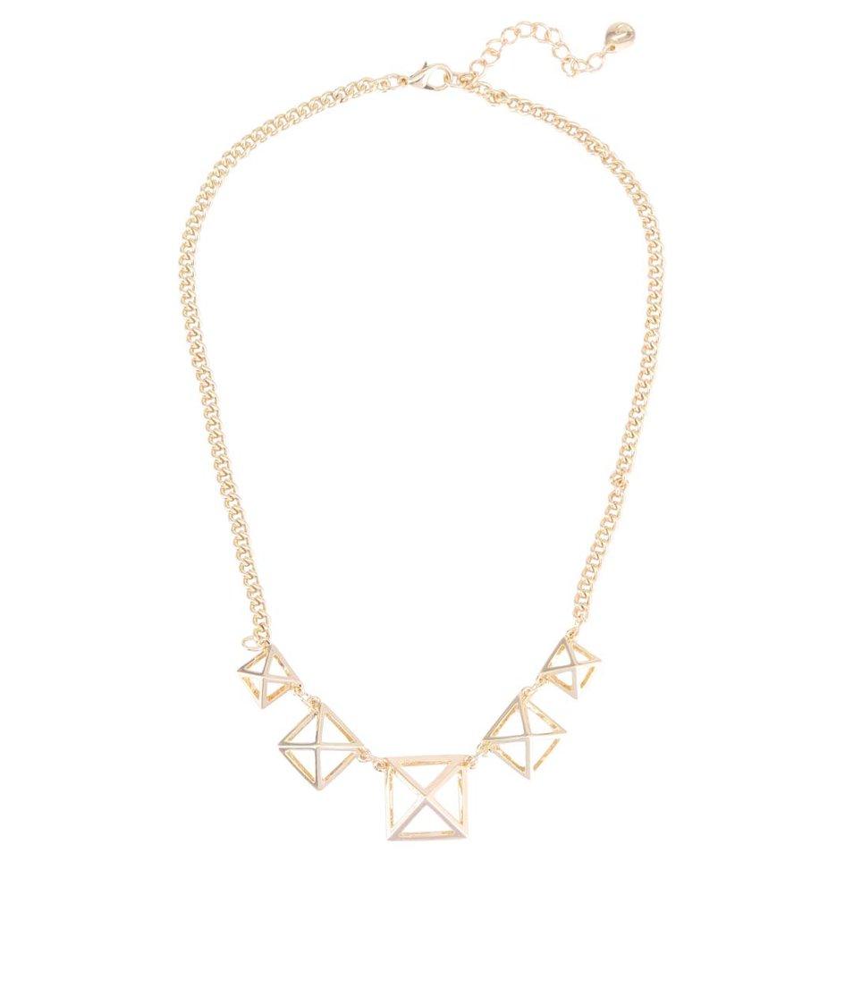 Náhrdelník s pyramidami Designsix Gibson