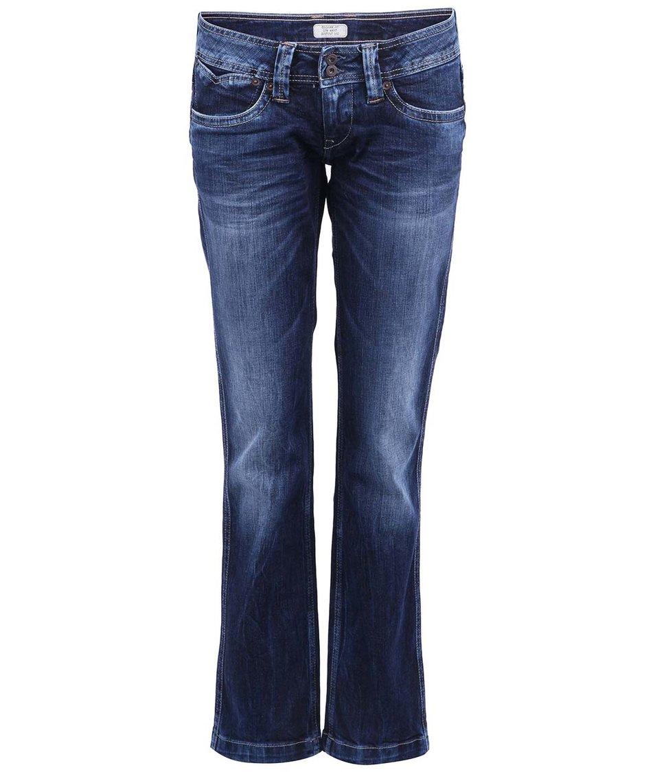 Tmavě modré dámské džíny Pepe Jeans Banji