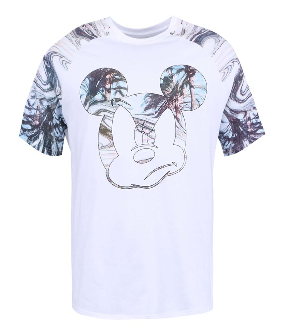 Bílé pánské triko s potiskem Eleven Paris Lical
