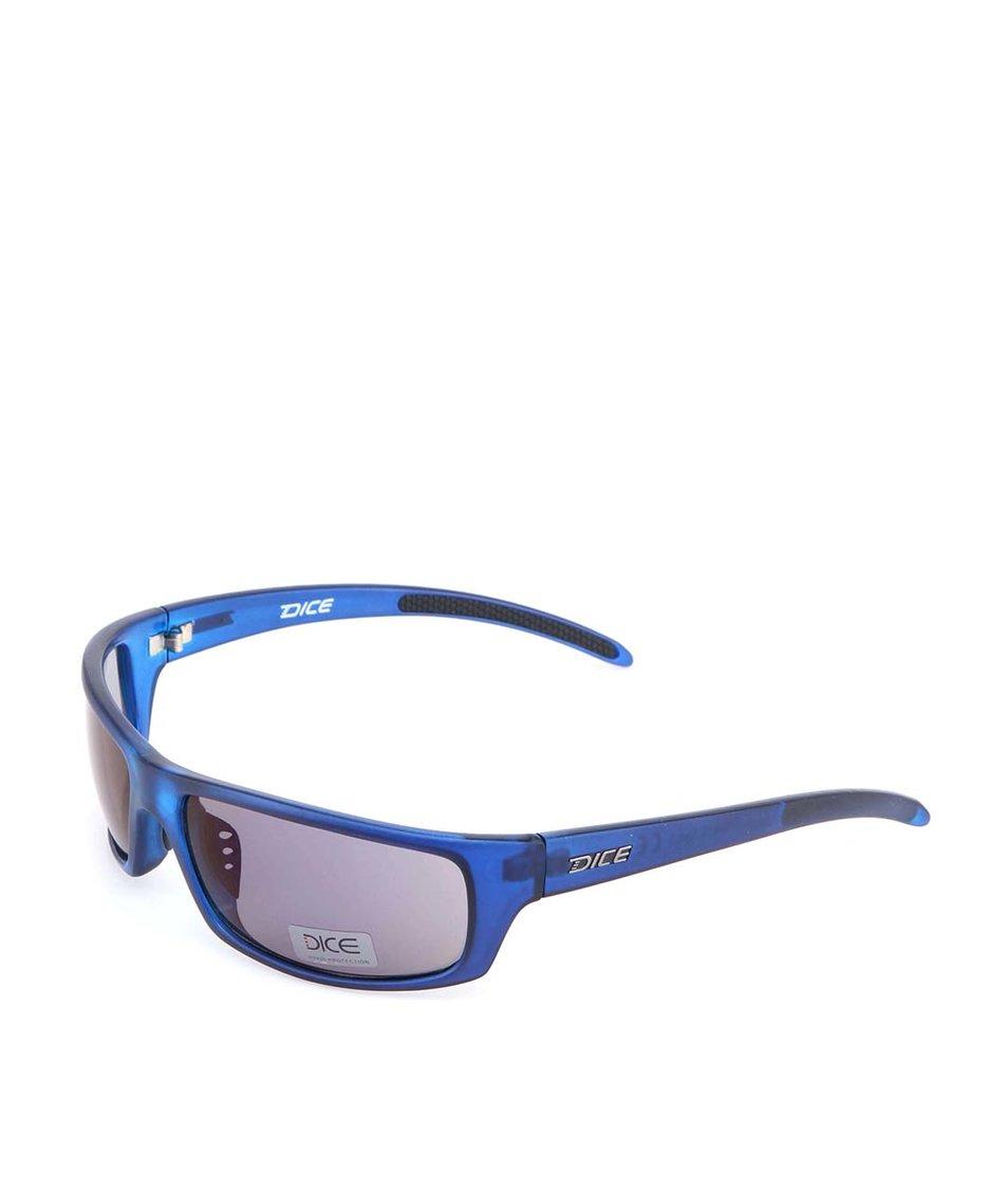Modré sportovní sluneční brýle Dice Two Tone