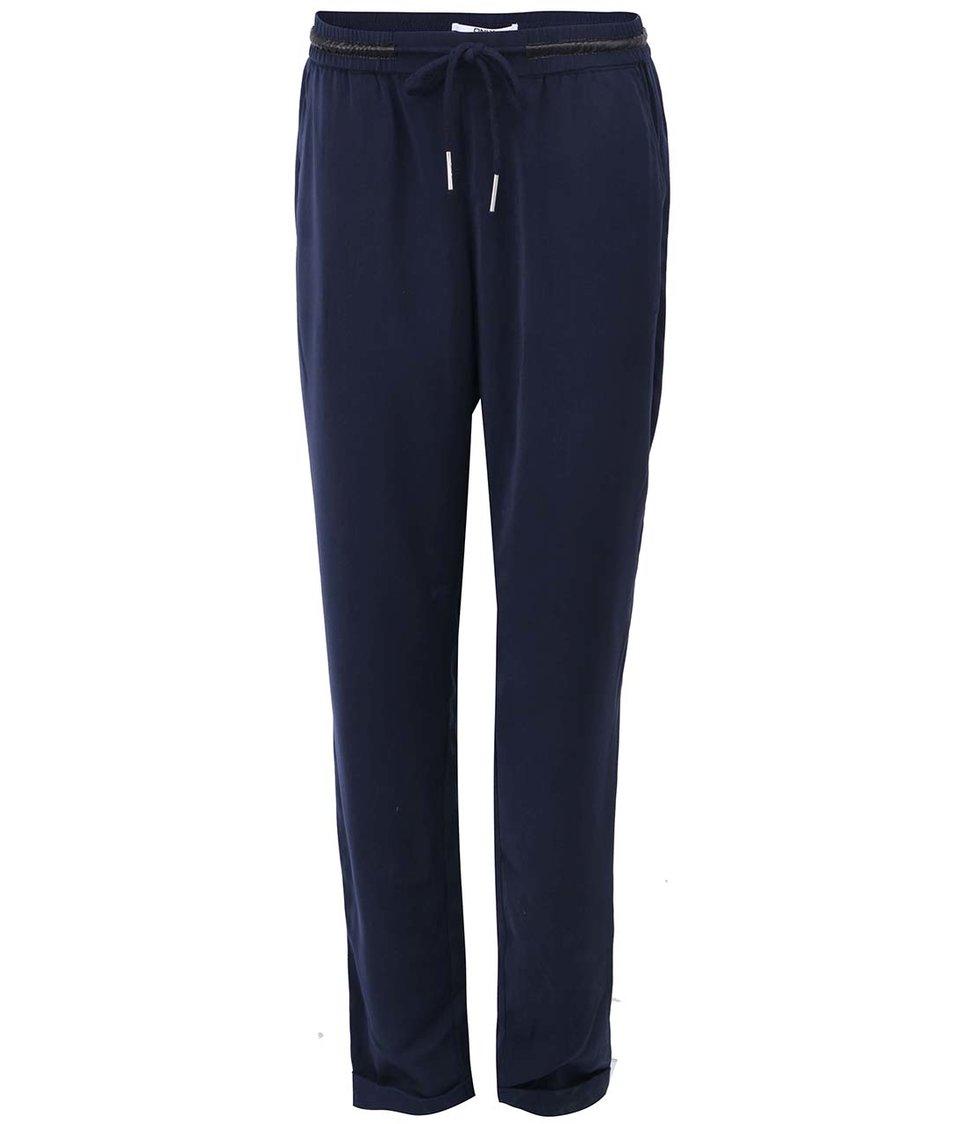 Tmavě modré kalhoty ONLY Megan