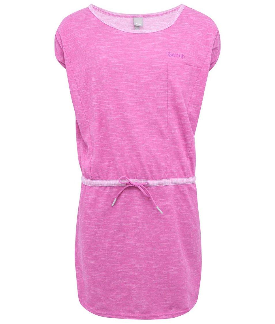 Růžové šaty Bench Teberize