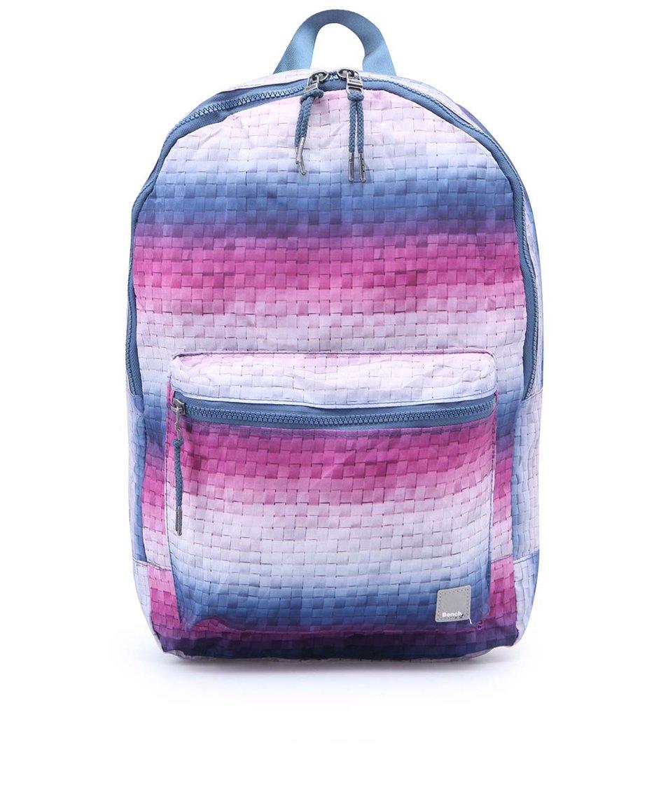 Růžovo-modrý dámský batoh Bench Brukner
