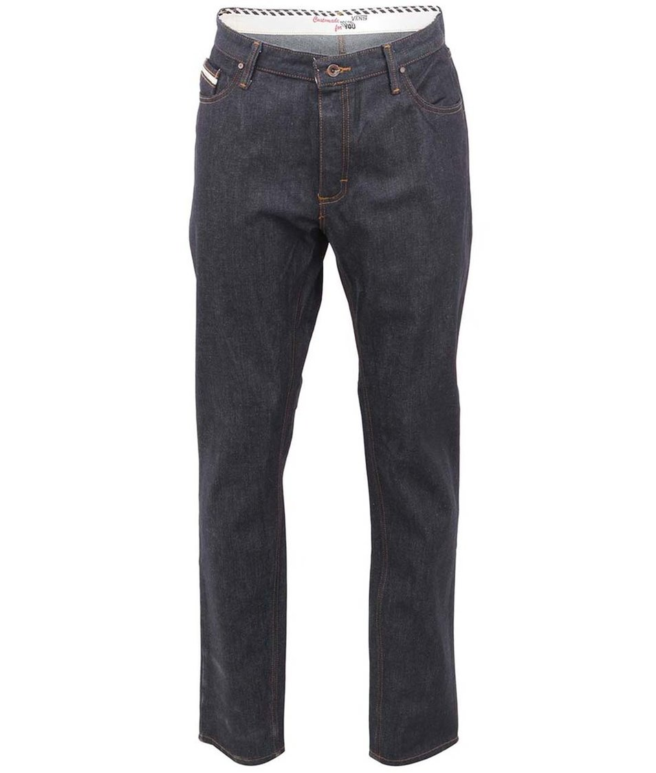 Tmavě modré pánské džíny Vans Taper