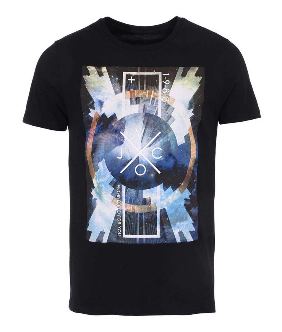 Černé pánské triko Voi Jeans Optic