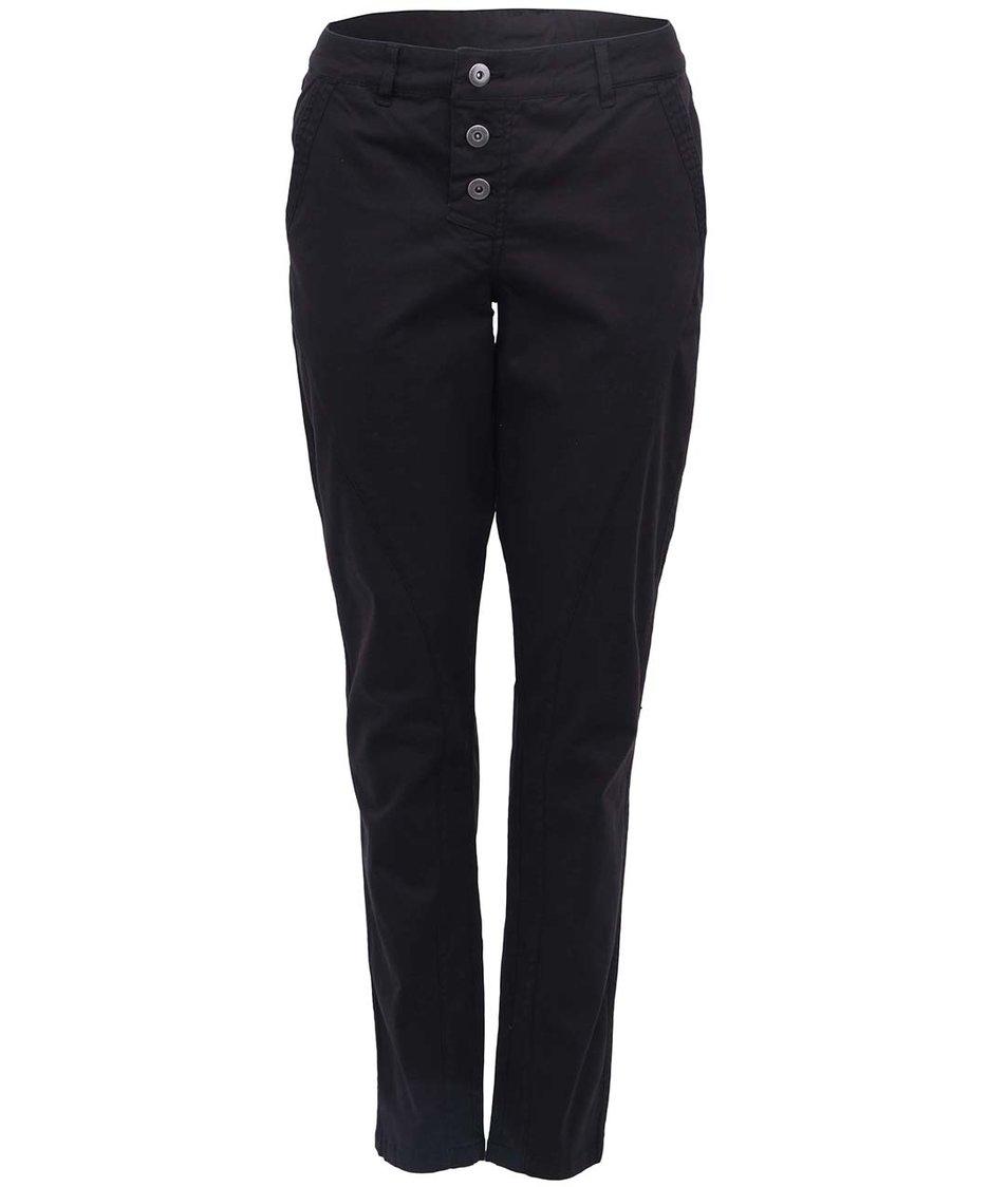 Černé kalhoty s vyšším pasem b.young Kiss