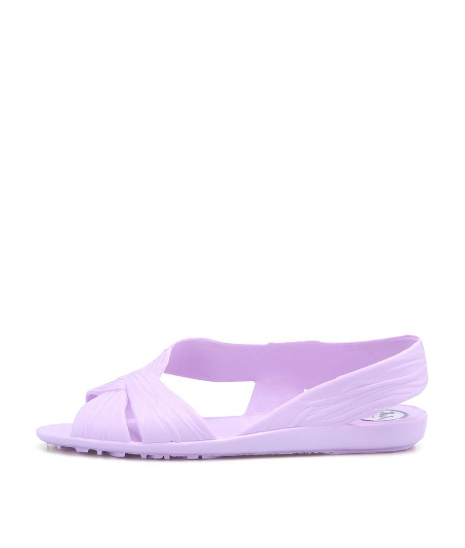 Fialové plastové sandálky JuJu Fergie