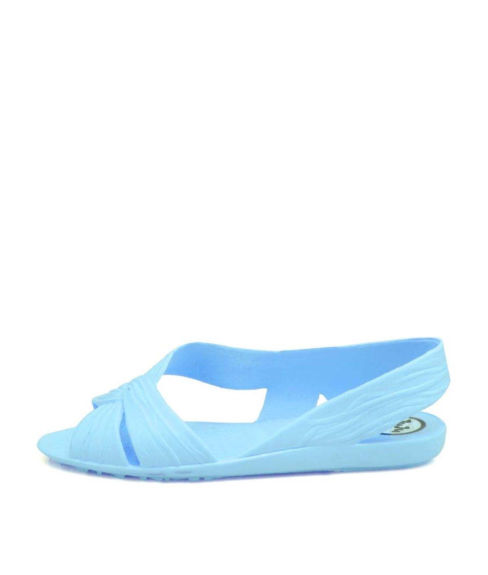 Světle modré plastové sandálky JuJu Fergie