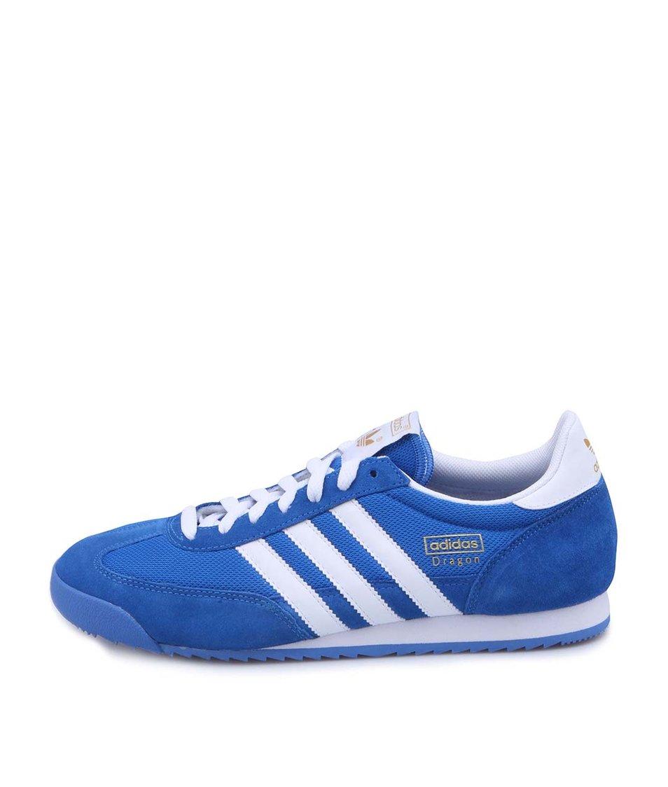 Modré pánské tenisky adidas Originals Dragon