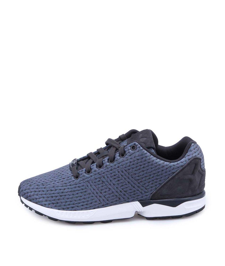 Modrošedé pánské sportovní tenisky adidas Originals ZX Flux