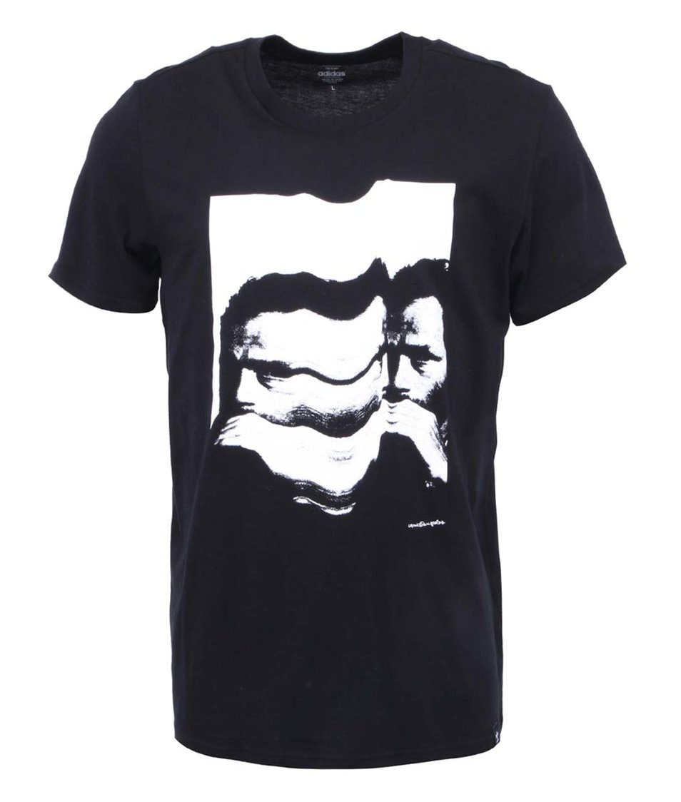 Černé pánské tričko adidas Originals Face