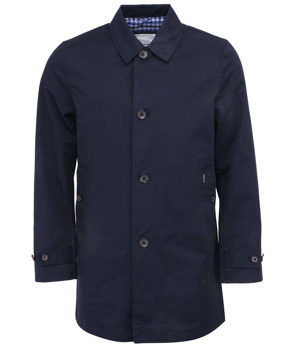 Tmavě modrý lehčí kabát Ben Sherman