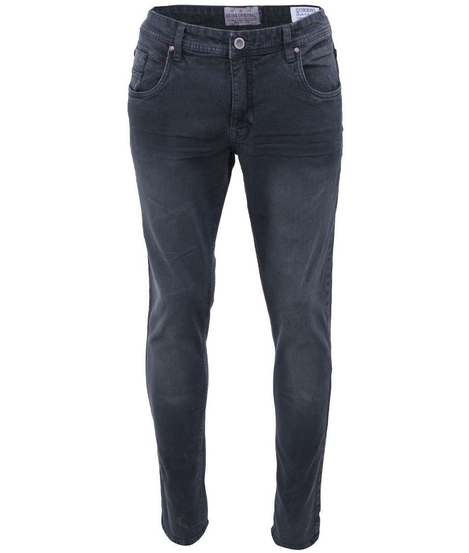 Tmavě šedé džíny Shine Original Queens