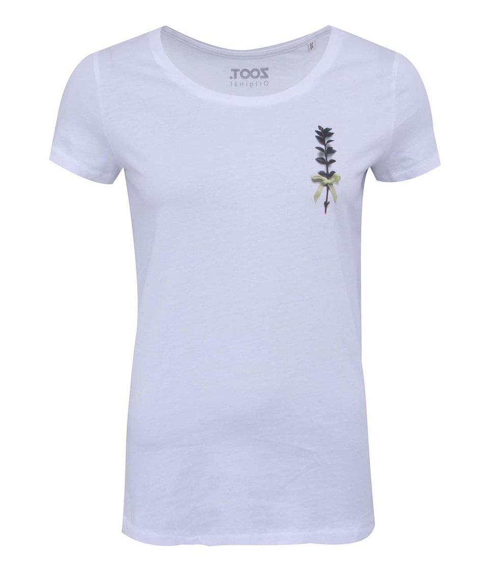 Bílé dámské tričko ZOOT Originál Myrta