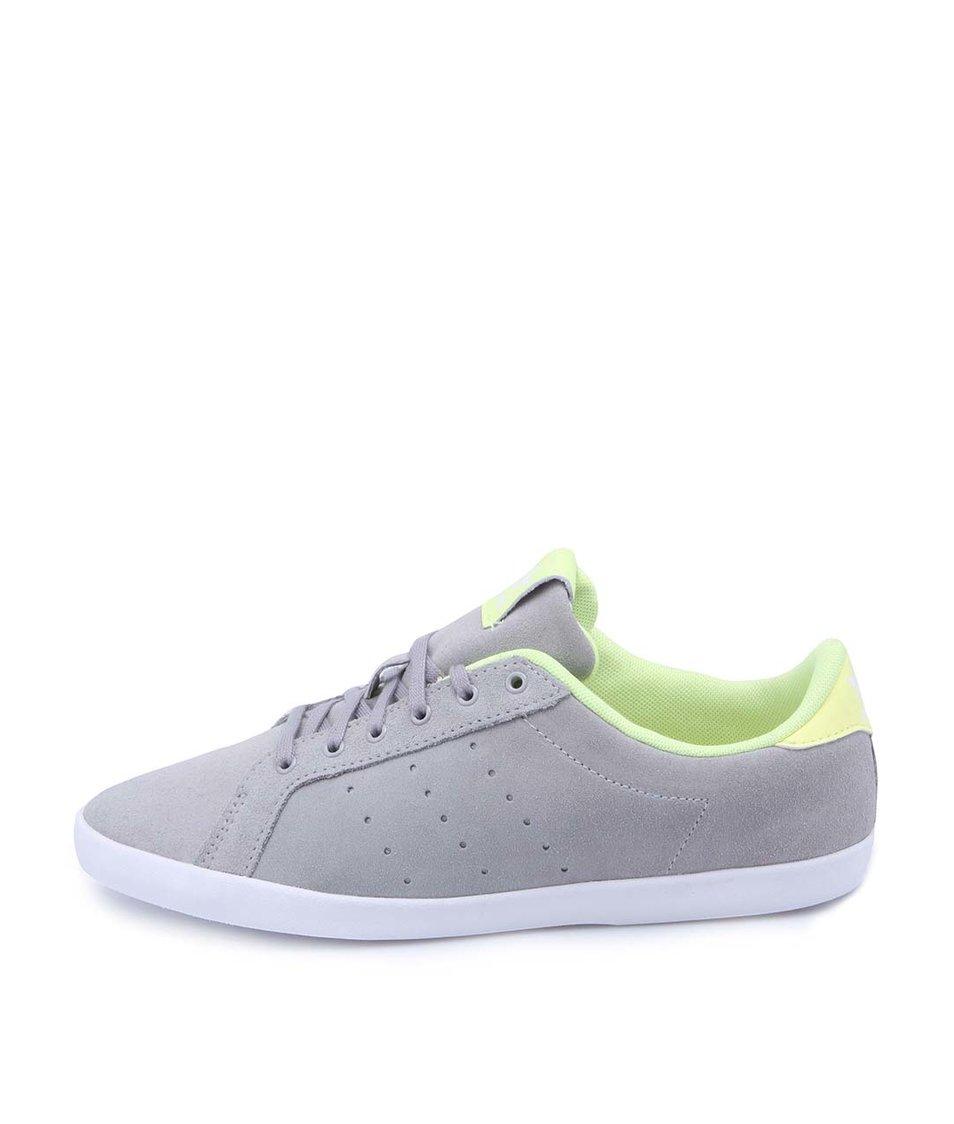 Šedé dámské kožené tenisky adidas Originals Miss Stan