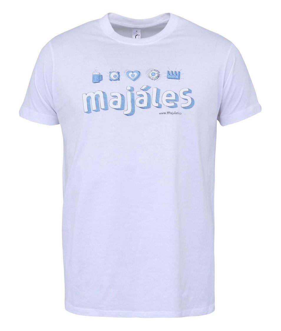 Bílé pánské triko Majáles