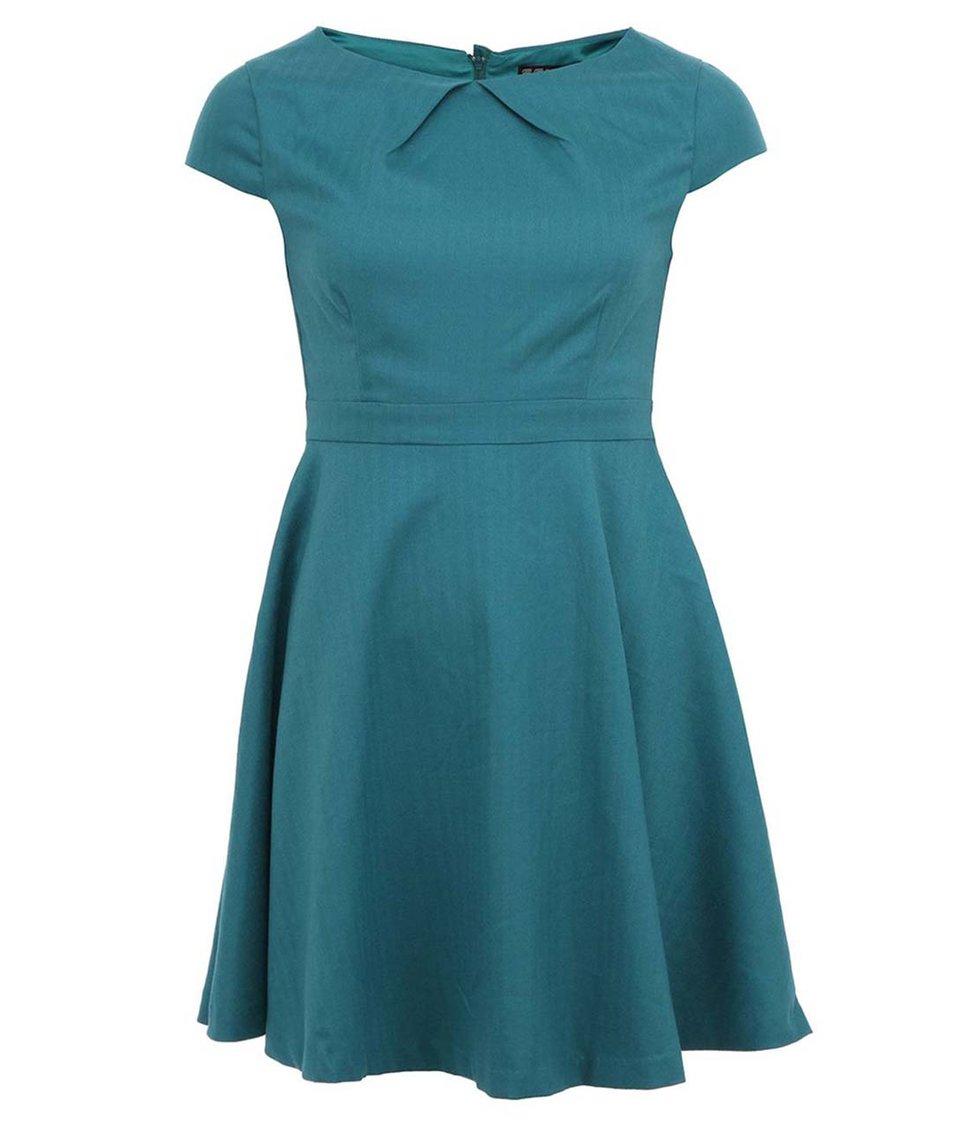 Zelené elegantní šaty Fever London Canary