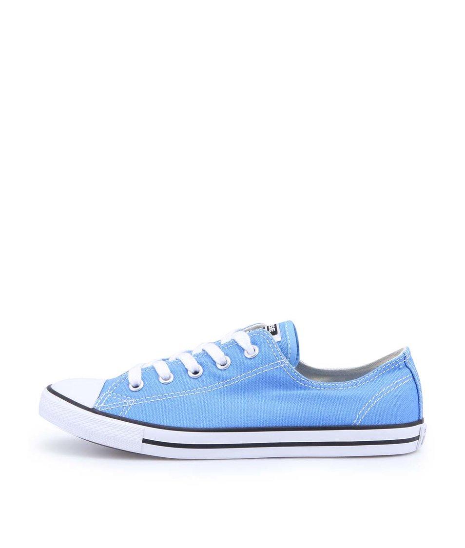 Modré dámské tenisky Converse Chuck Taylor All Star Dainty