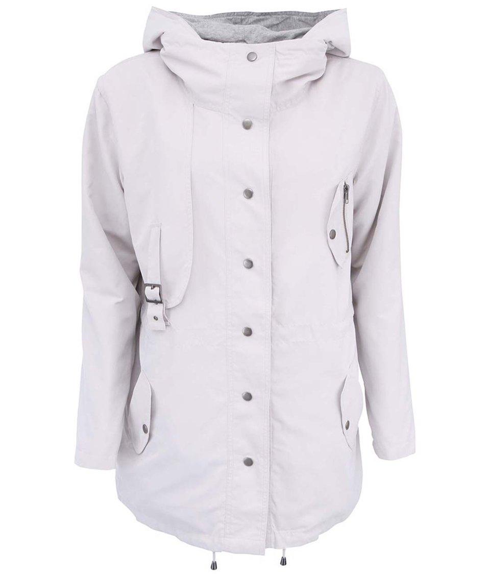 Světle šedá parka s kapucí YAYA Jacket