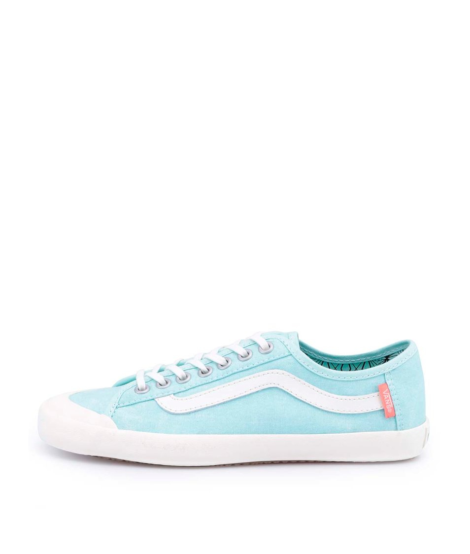Světle modré dámské tenisky Vans Happy Dazze