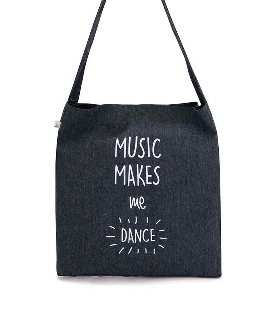 Tmavě šedá taška ZOOT Originál Music Makes Me Dance