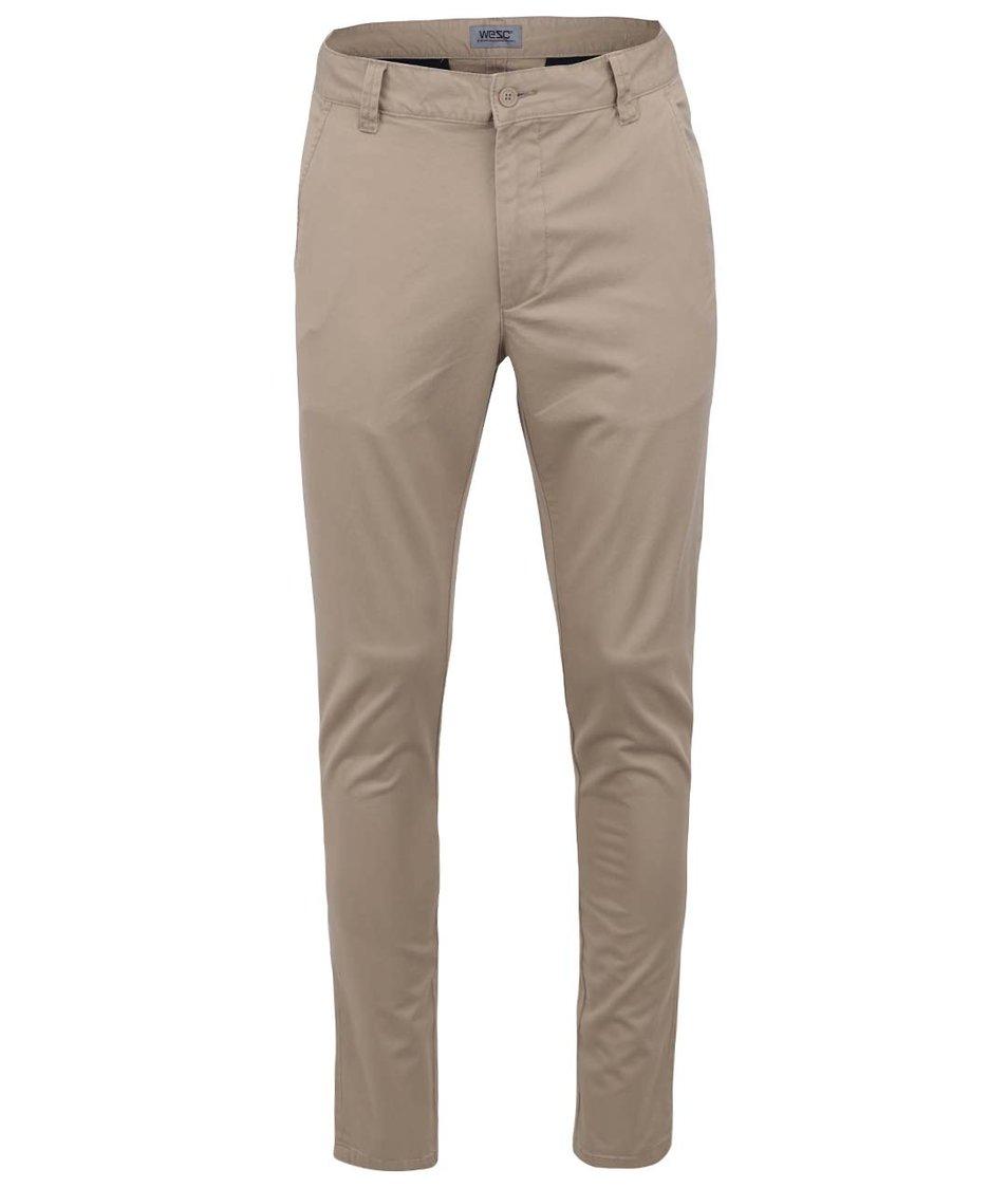 "Béžové chino kalhoty ""34"" WeSC Alessandro"