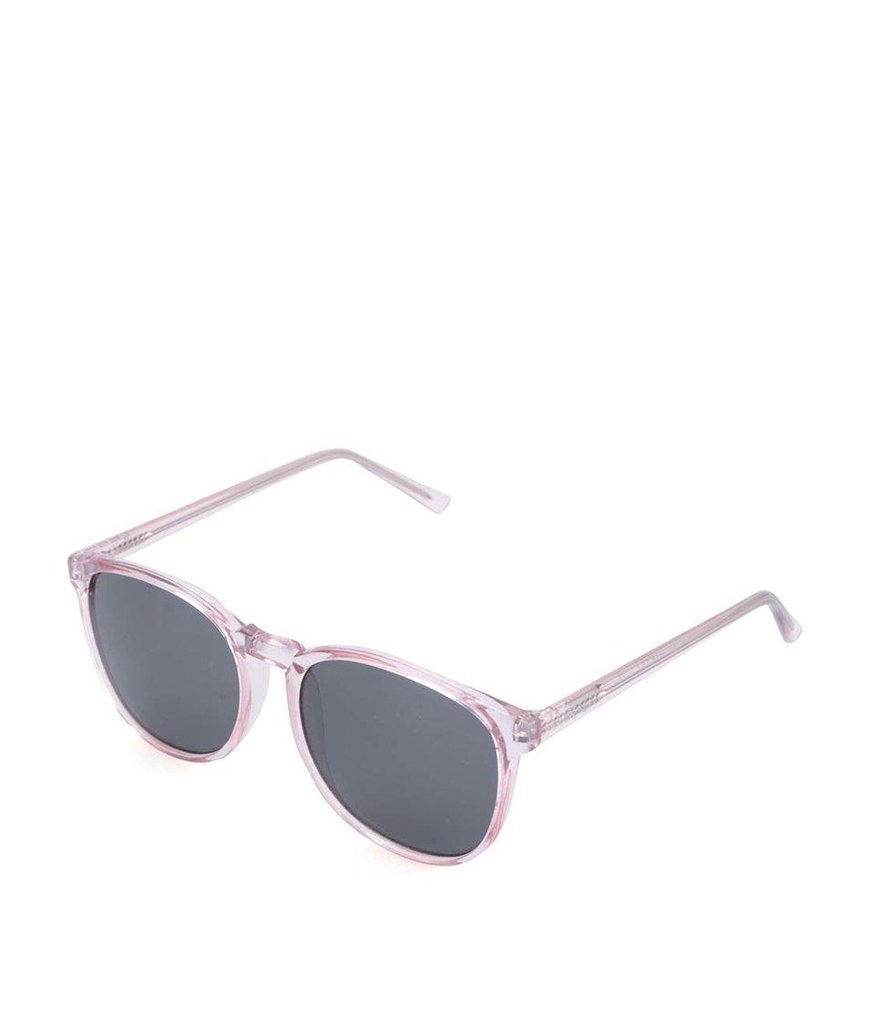 Růžové dámské sluneční brýle Komono Urkel