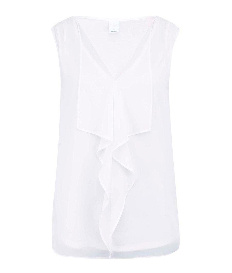 Bílá halenka bez rukávů Vero Moda Maja