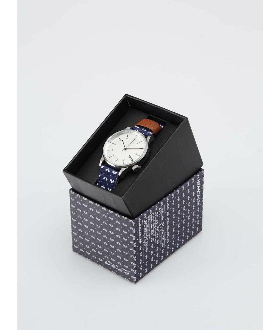 Pánské hodinky Komono Winston Print Ping Pong Polkadot