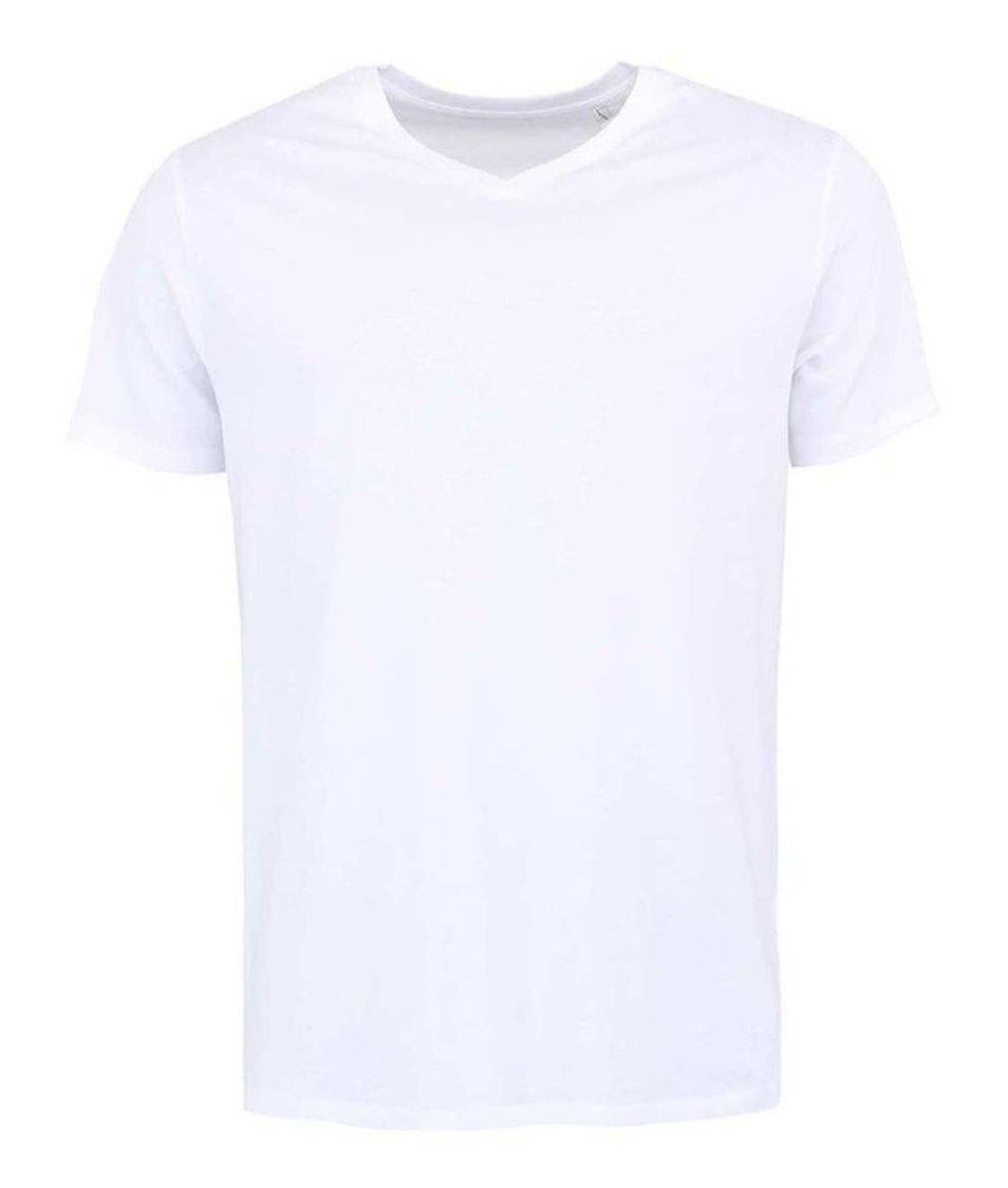Zářivě bílé pánské tričko Stanley & Stella Expects