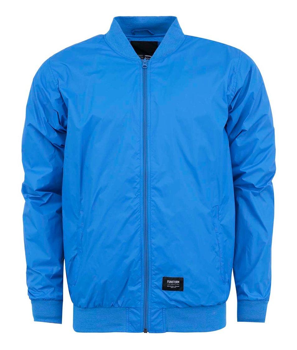 Modrá pánská lehká bunda Funstorm Lothbury