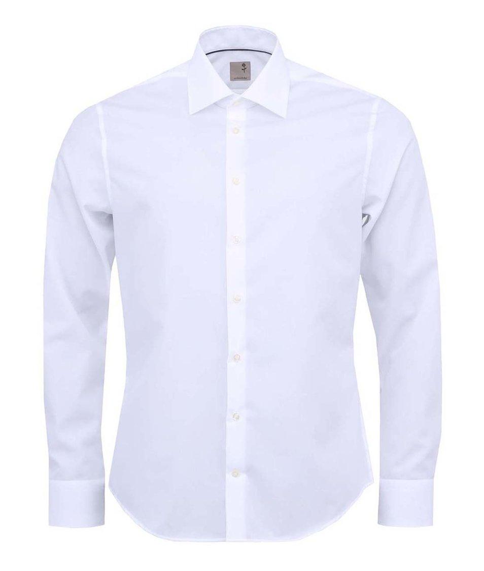 Bílá košile Seidensticker Kent SR Slim Fit