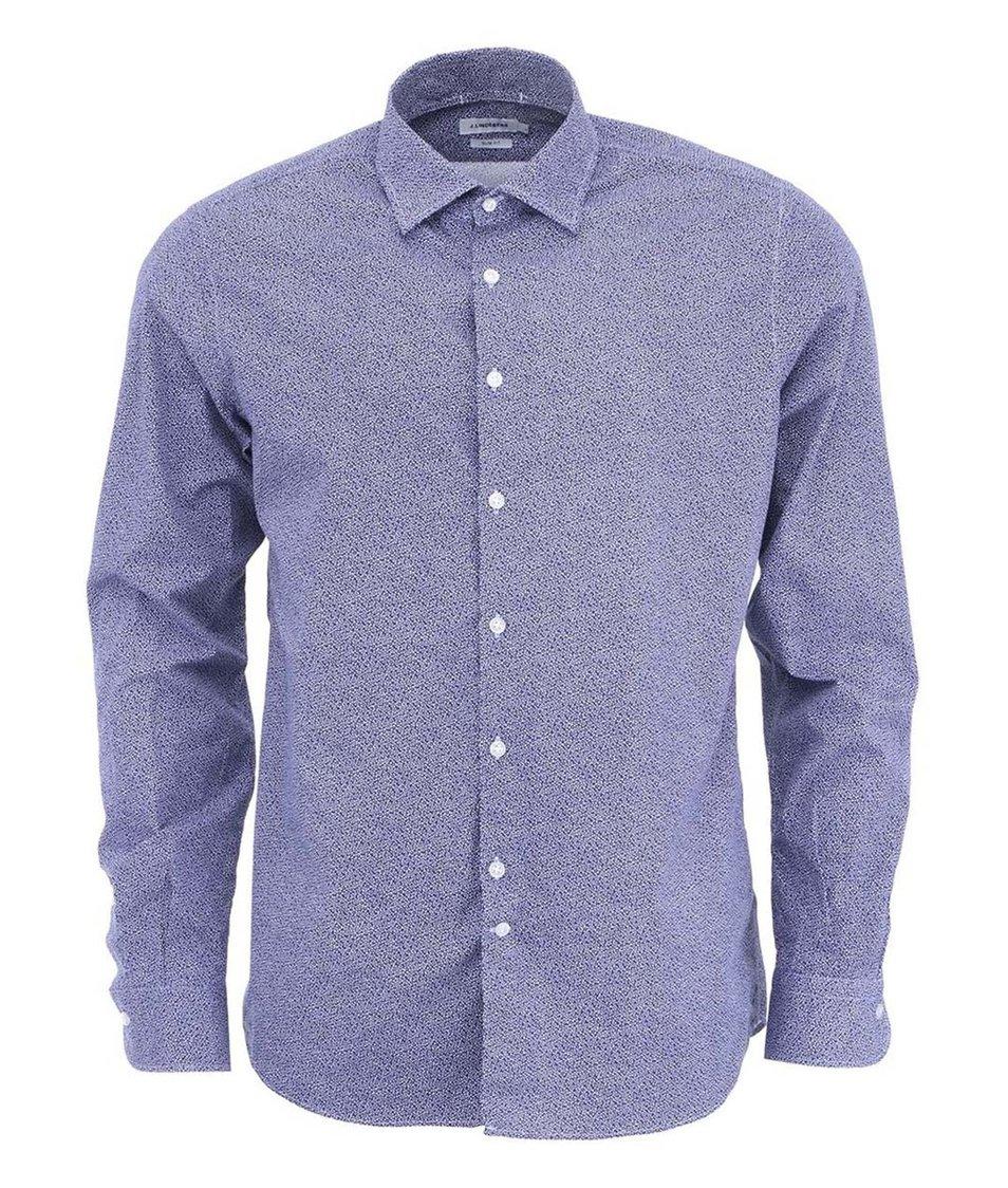Tmavě modrá pánská košile J.Lindeberg Dani Season