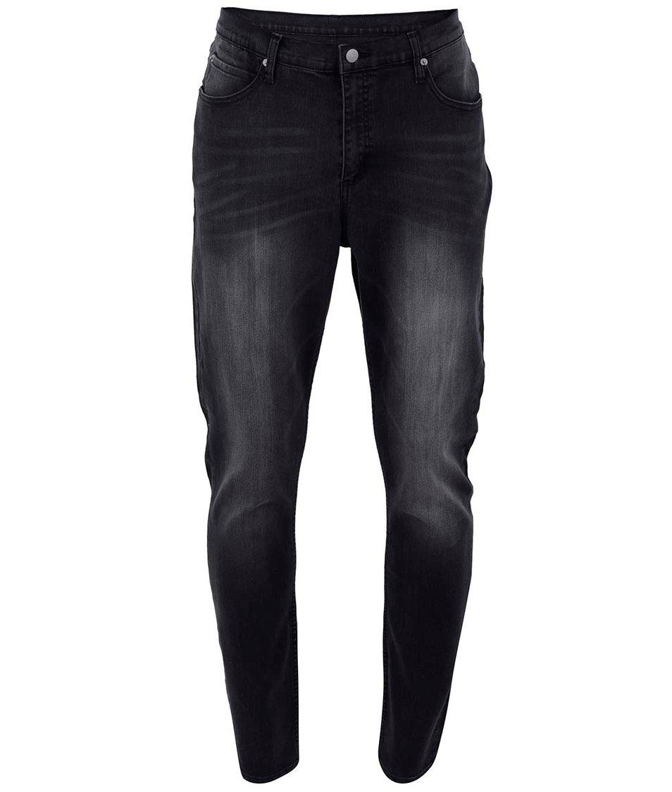 Tmavě šedé pánské džíny Cheap Monday Dropped base