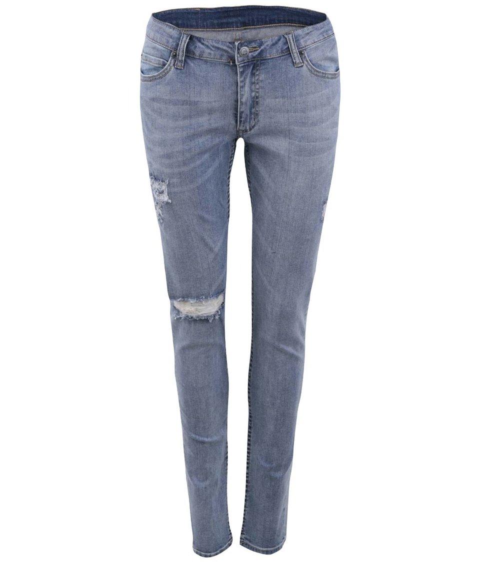 Světle modré dámské džíny s nízkým pasem Cheap Monday Slim