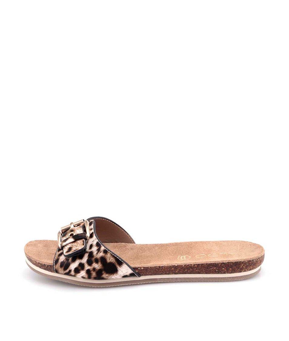 Leopardí dámské pantofle ALDO Aloha