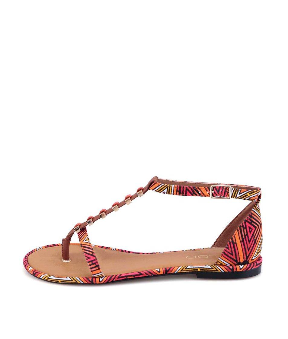 Barevné vzorované sandálky ALDO Annabeth