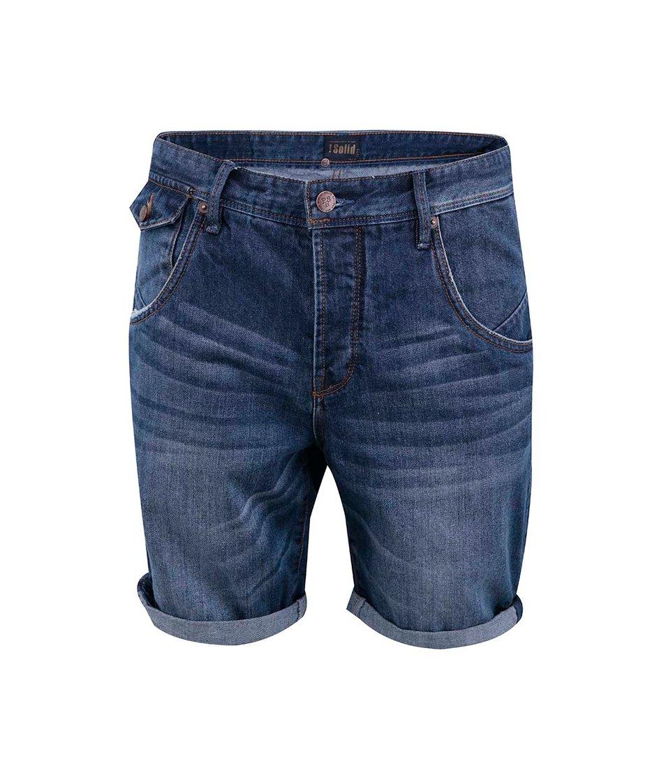 Modré džínové kraťasy !Solid Felix
